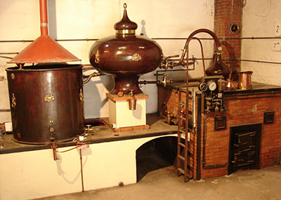 alambic distillation cognac